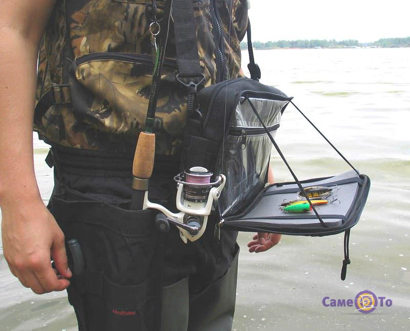 Сумка для ходовой рыбалки своими руками 54