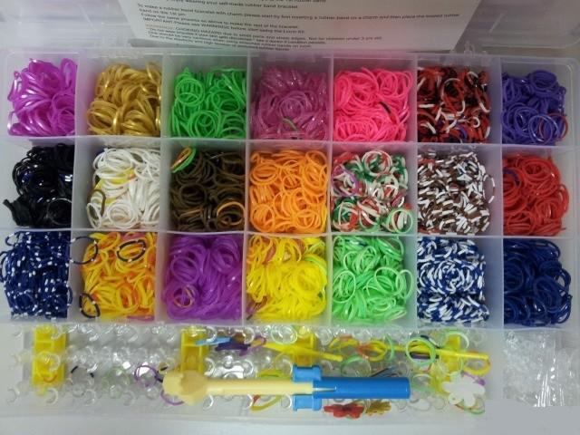 Loom bands наборы для плетения