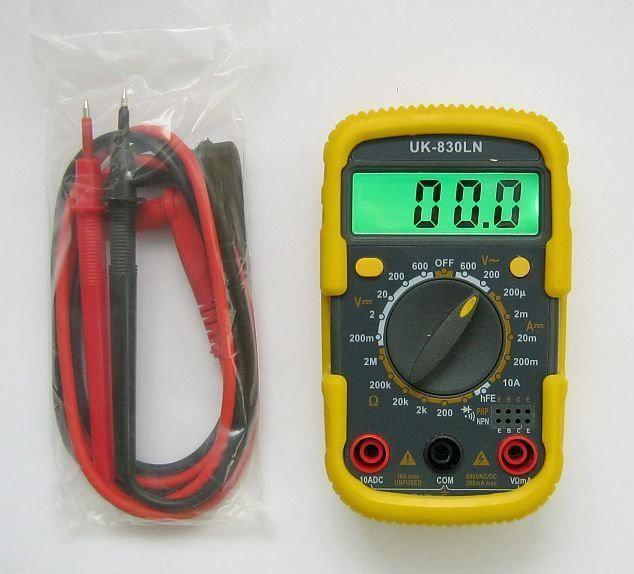 Мультиметр Uk-830ln Инструкция - фото 5
