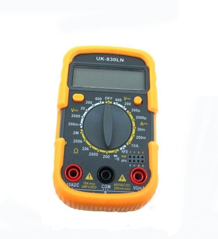 Мультиметр Uk-830ln Инструкция - фото 3