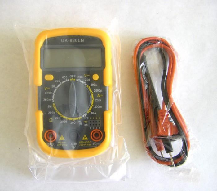 Мультиметр Uk-830ln Инструкция - фото 10