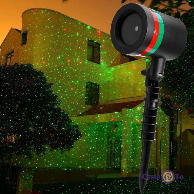 Лазерный проектор Star Shower Звездный душ