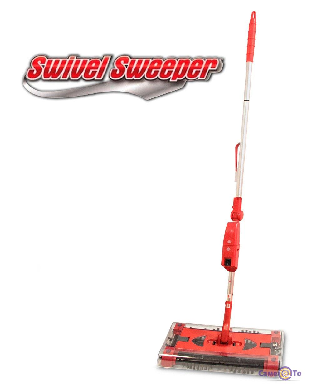 Электровеник-щетка Swivel Sweeper G6
