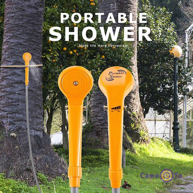 Портативный автомобильный душ от прикуривателя Automobile Shower Set