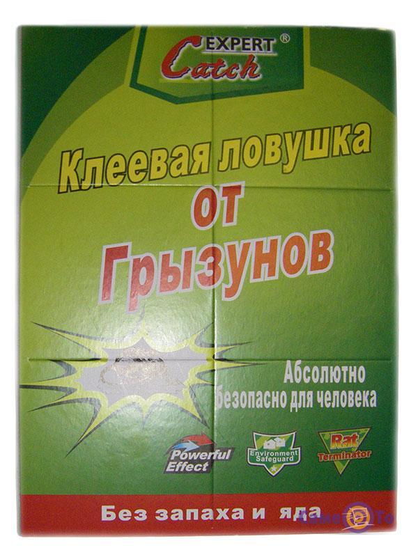 Клеевая ловушка для мышей и грызунов Catch Expert