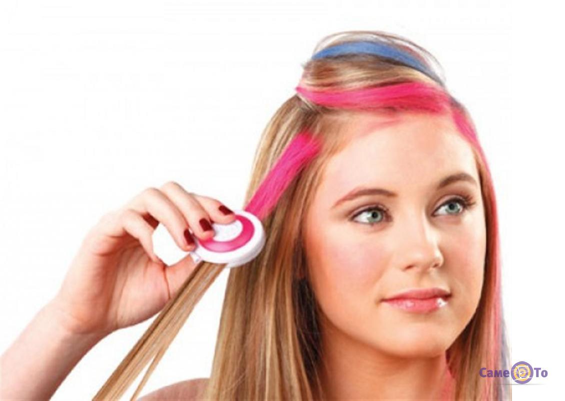 Цветные мелки для волос Hot Huez Хот Хьюз