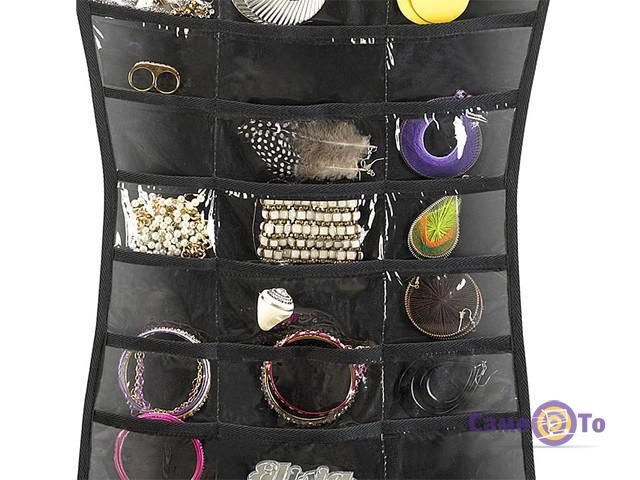 Платье органайзер для украшений Hanging Jewelry Organizer