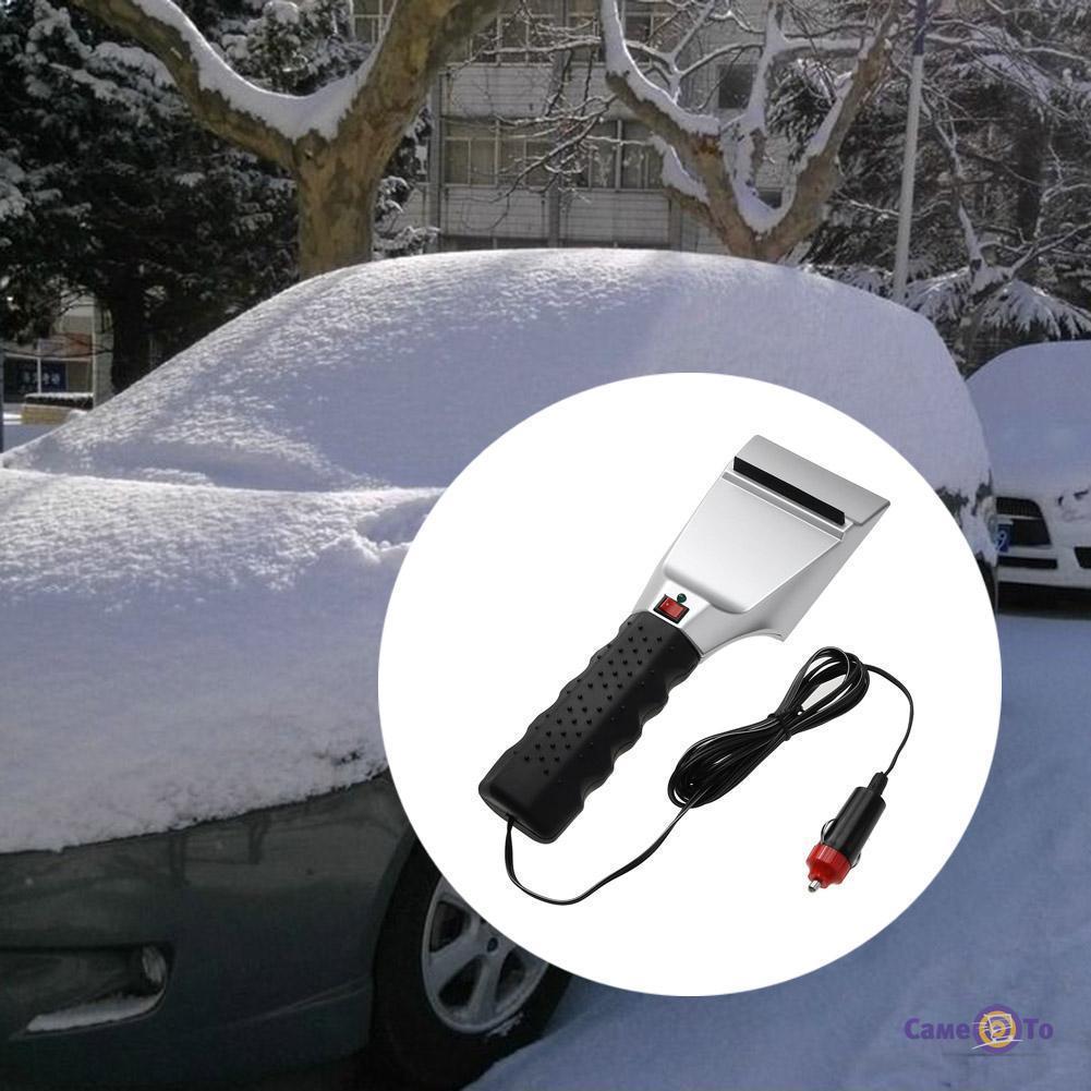 Електричний скребок для авто з підігрівом Антилід