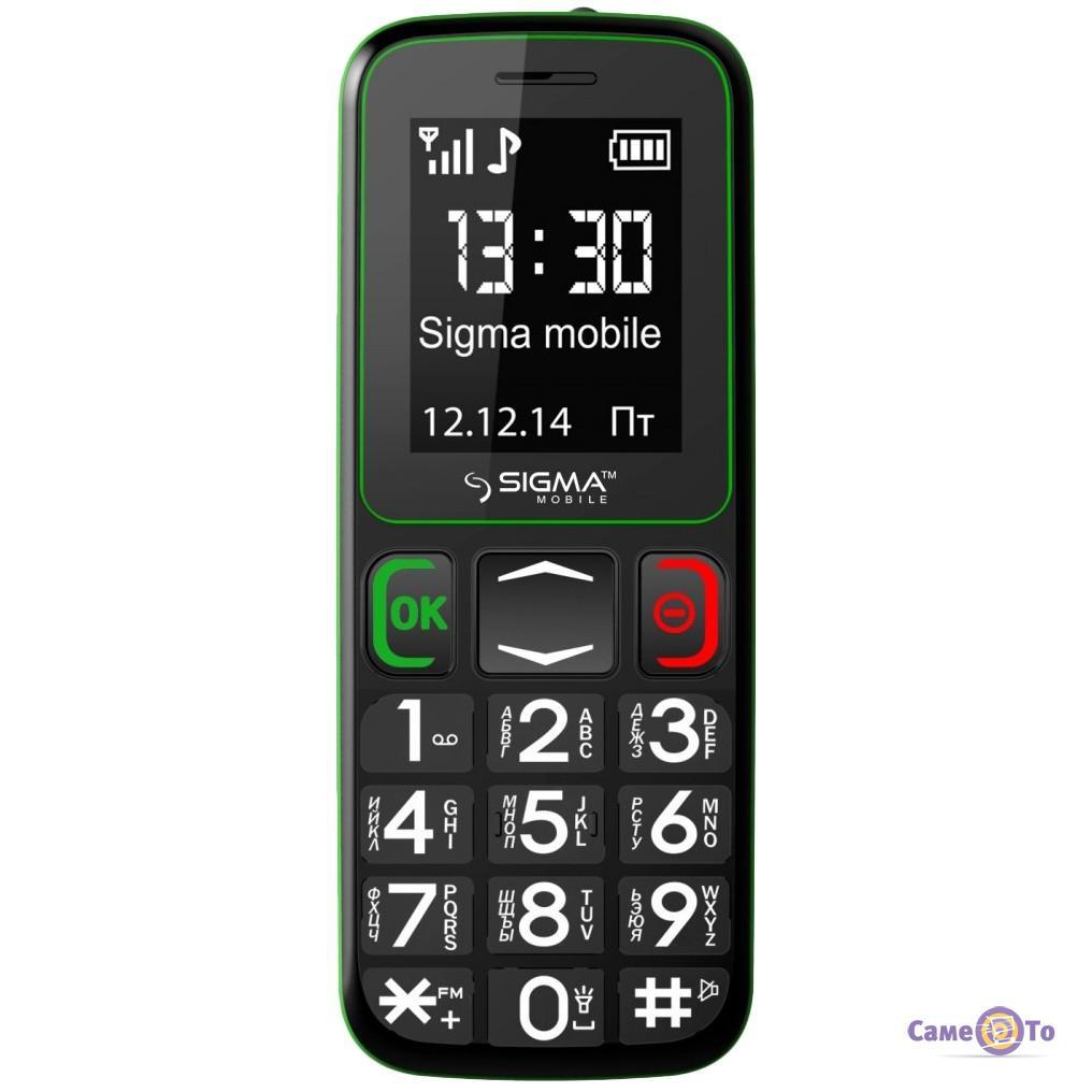 Мобильный телефон Sigma mobile Comfort 50 (Бабушкофон)