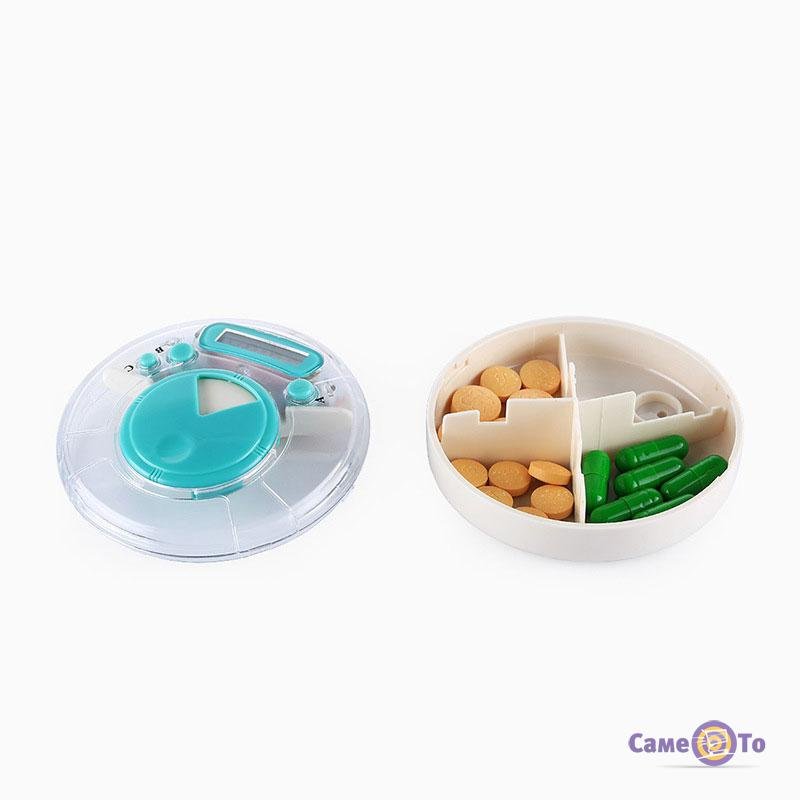 Контейнер для таблеток с таймером Medicine Box Timer