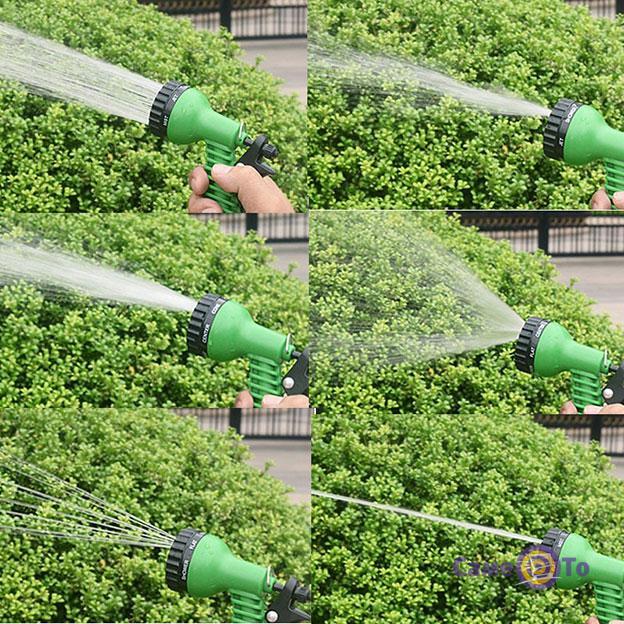 Поливочный шланг с водораспылителем X-hose 60 м. Magic Hose (Икс Хоз)