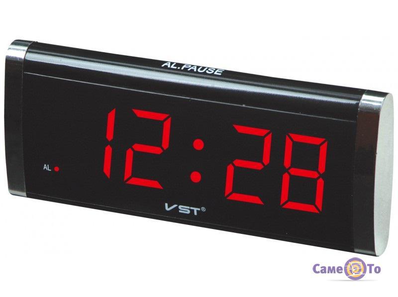 Настольные электронные часы VST-730 с будильником