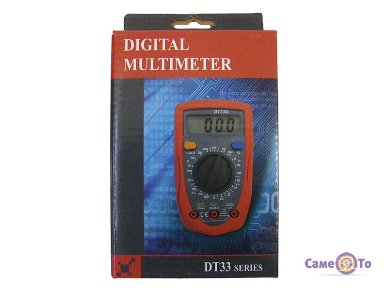 Цифровой тестер мультиметр DT33B