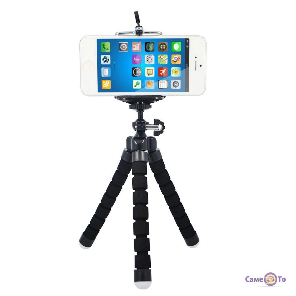 Гибкий штатив для фотоаппаратов и видеокамер Осьминог