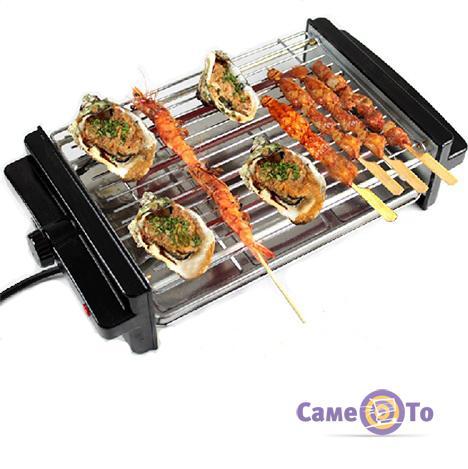 Электрический барбекю-гриль и 6 лопаток Ba Ba Le Electric Grill