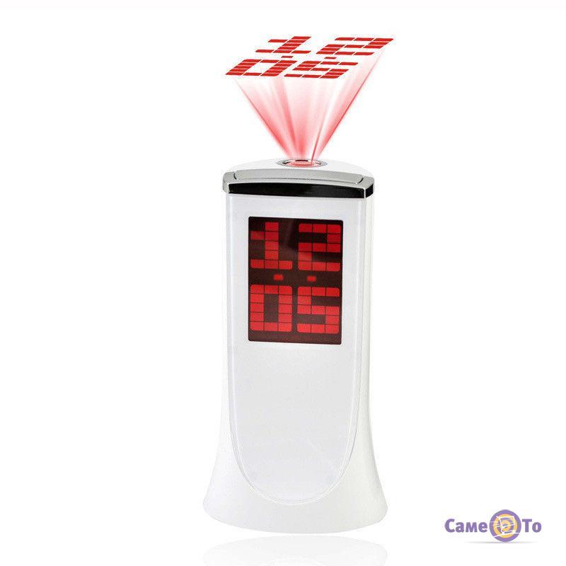 Настольные электронные часы с проектором времени 1136A