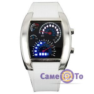 Наручные часы Led Watch Sport Car в виде спидометра