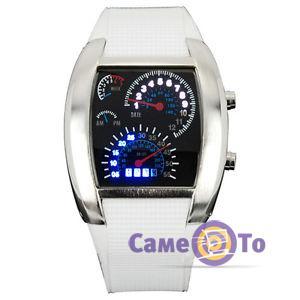 Наручные часы Led Watch Sport Car в виде спидометра