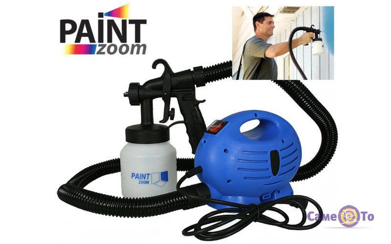 Электрический краскопульт (краскораспылитель) Paint Zoom