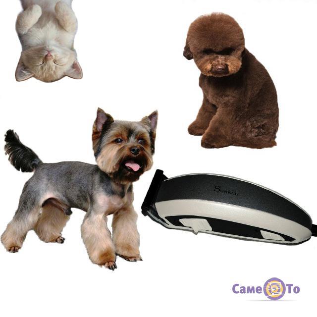 Триммер для животных Surker HC-585 Pet Hair Clipper 6 насадок