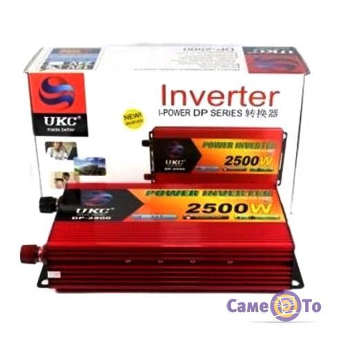 Инвертор преобразователь UKC Inverter I-Power SSK 2500W