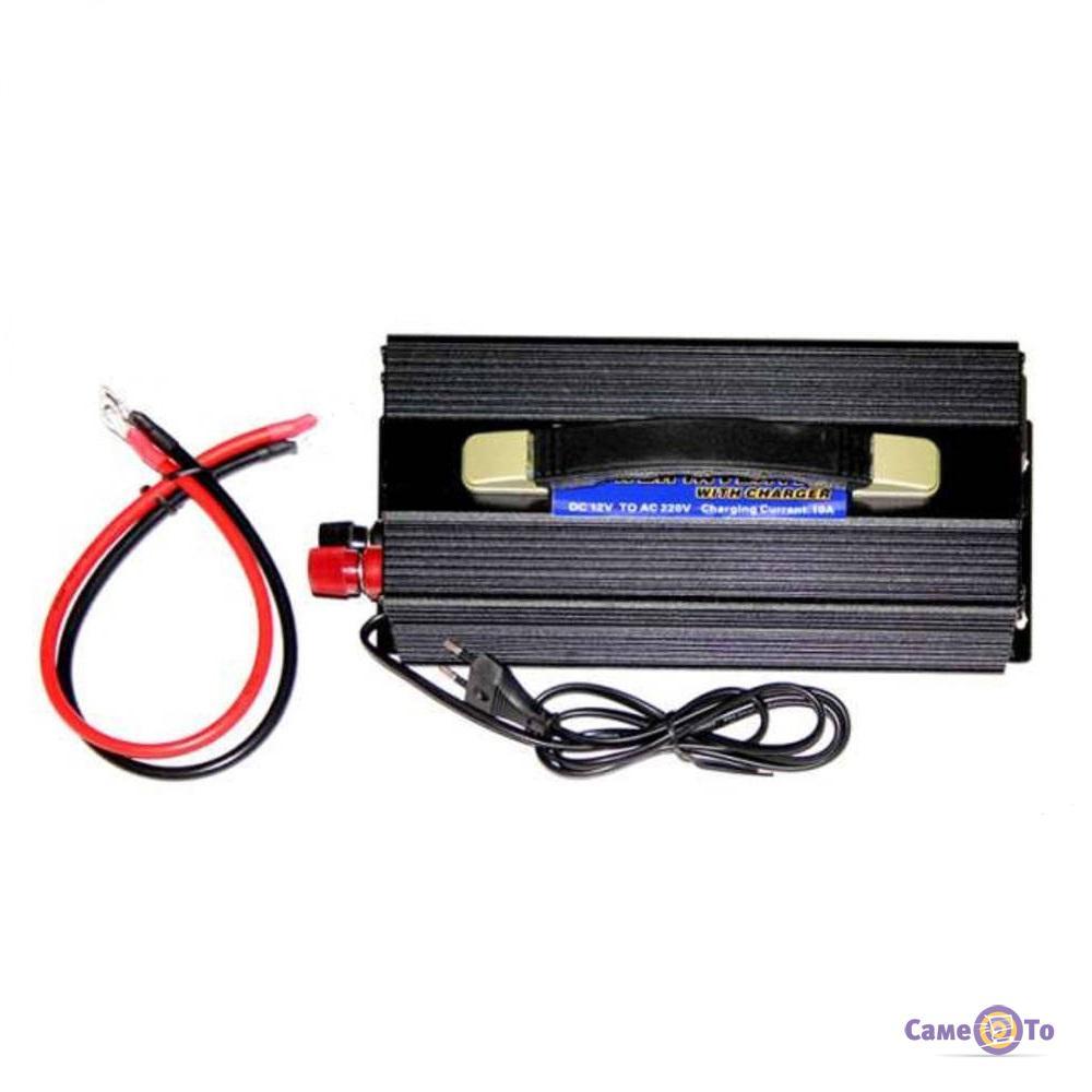 Инвертор Nippotec CP-3000W с зарядным устройством на 10A