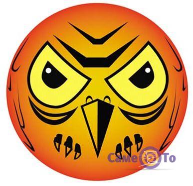 Визуальный отпугиватель птиц Сова (от голубей и воробьев)