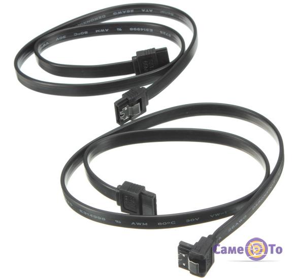 Кабель для передачи данных SATA 3.0 III 6 ГБ/cек. - 2 шт.