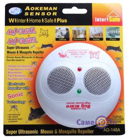 Отпугиватель мышей и комаров Aokeman Sensor AO-148A