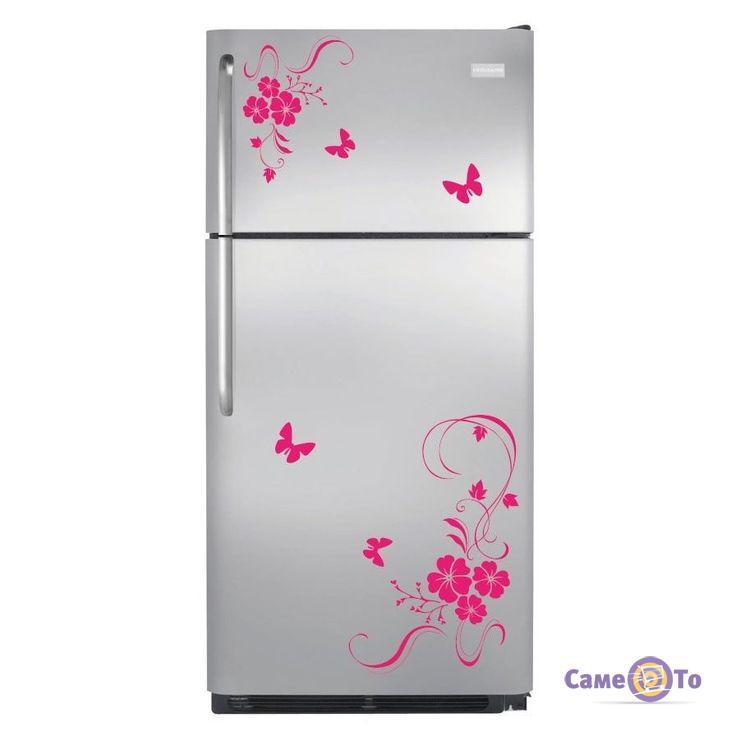 Наклейки на холодильник 1001518 - разные цвета!