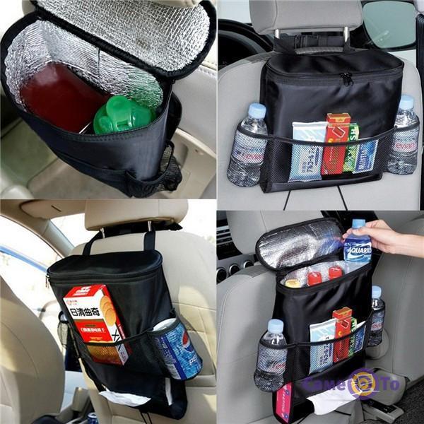 Сумка-холодильник в автомобиль на спинку сиденья