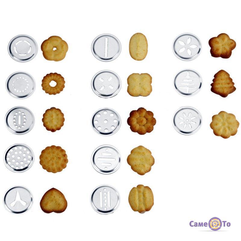 Кондитерский пресс-шприц для выпечки Cookie Set and Icing Set