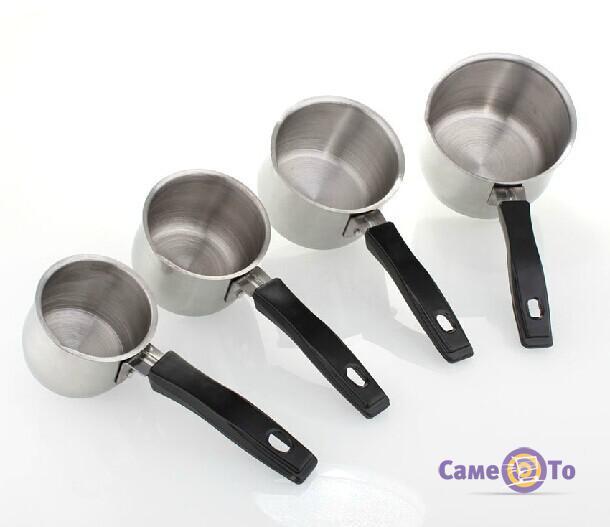 Кофейный набор из 4 турок Set 4 Coffee Pots
