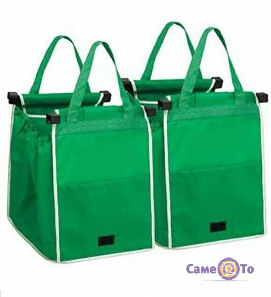 Сумка для покупок Cart Bag Snap-on-Cart Shopping Bag