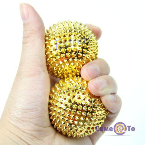 Массажные шарики для кисти рук Massaging Needle 2шт.