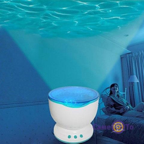 Ночник-проектор Daren Waves Волны Океана
