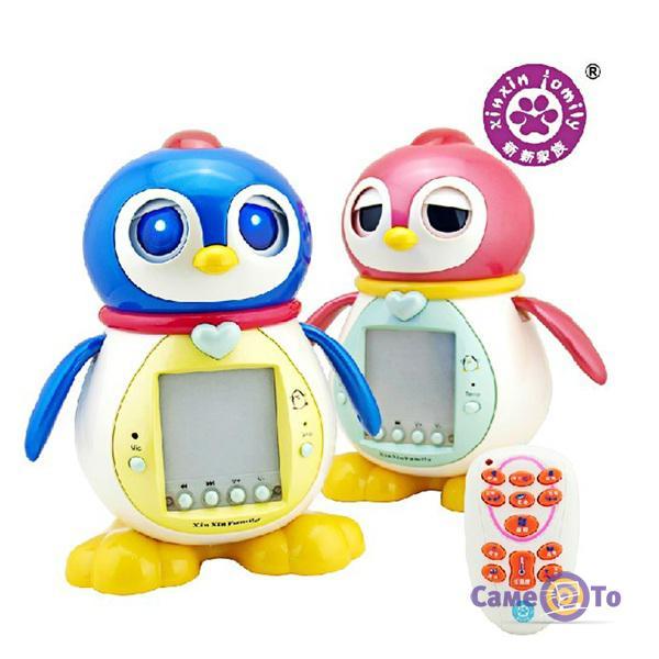 Интерактивная игрушка Пингвинёнок Тиша с ПДУ