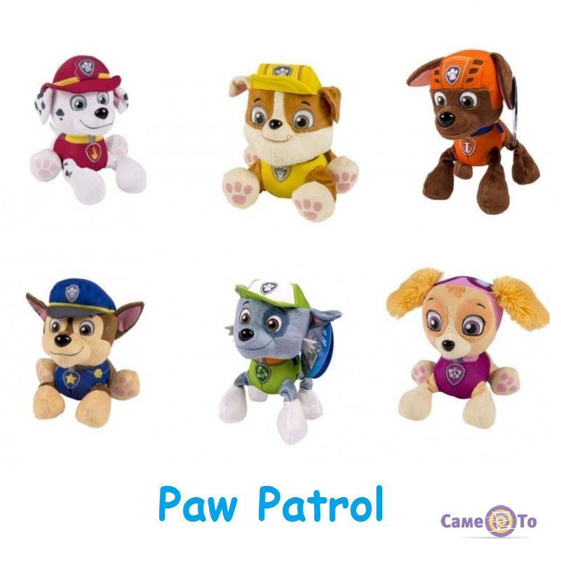 М'які іграшки Paw Patrol Щенячий патруль (поштучно)