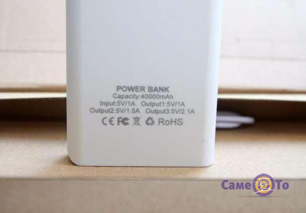 Портативный аккумулятор Power Bank UKC 40000 mAh (3-USB)