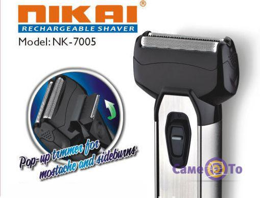Электробритва для мужчин беспроводная Nikai NK 7005