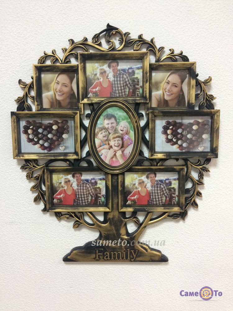 Мультирамка для фотографий Family Семья