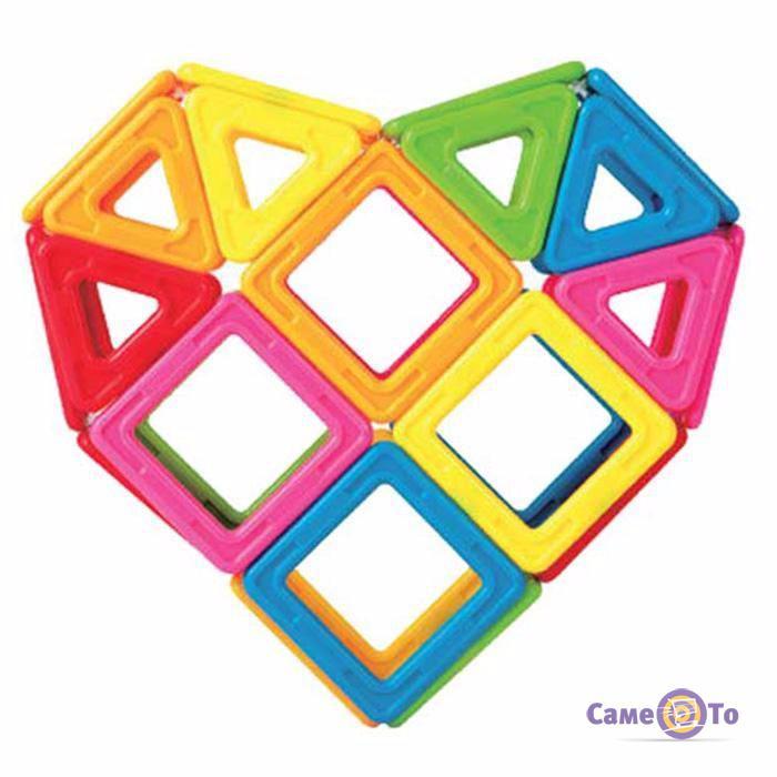 Магнитный 3D конструктор Mag-Puzzle 20 деталей