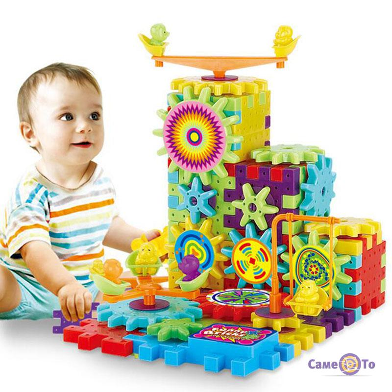 Детский развивающий 3D конструктор Magik Gears