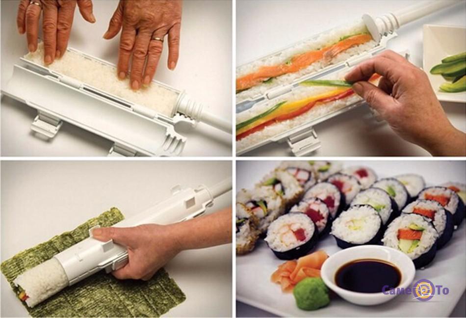 Изготовление суши и роллов в домашних условиях