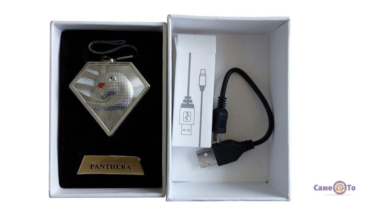 USB зажигалка Panthera Пантера со спиральным нагревателем
