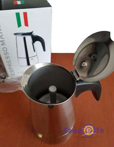 Гейзерная кофеварка на Espresso Maker на 2 чашки