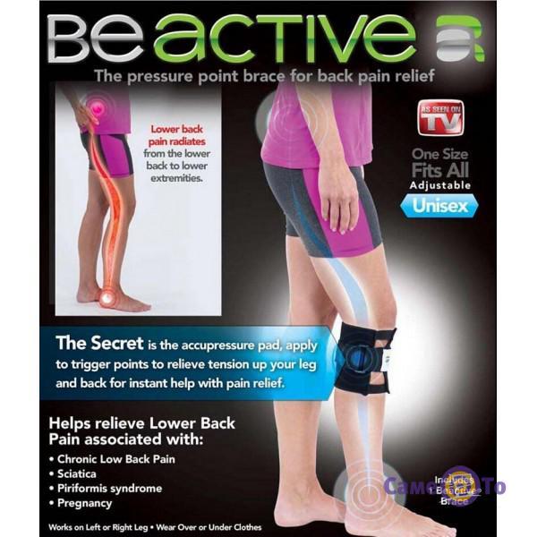 Лечебный магнитный наколенник-манжет Be Active