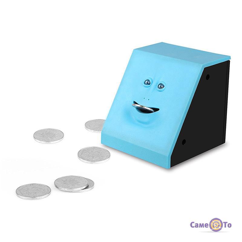 Копилка жующая монеты Face Bank с лицом