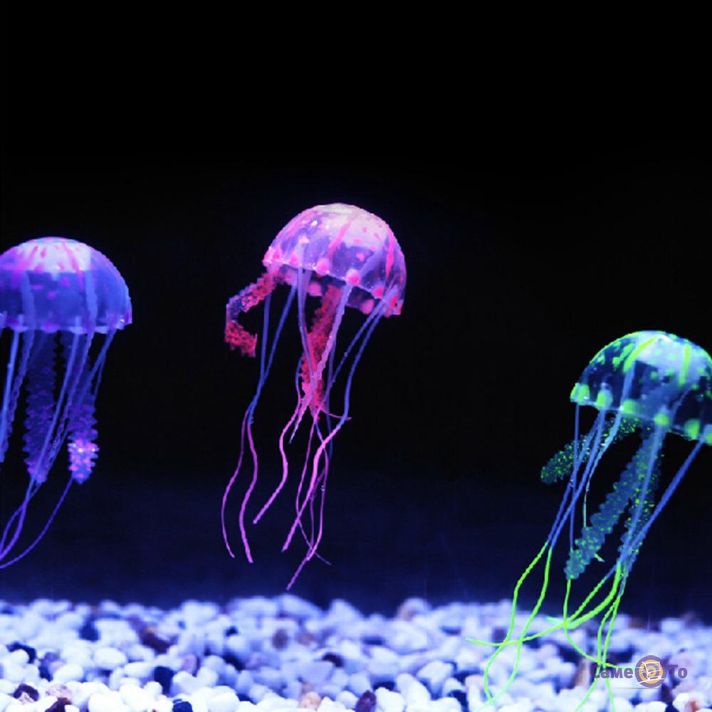 Декоративная медуза в аквариум