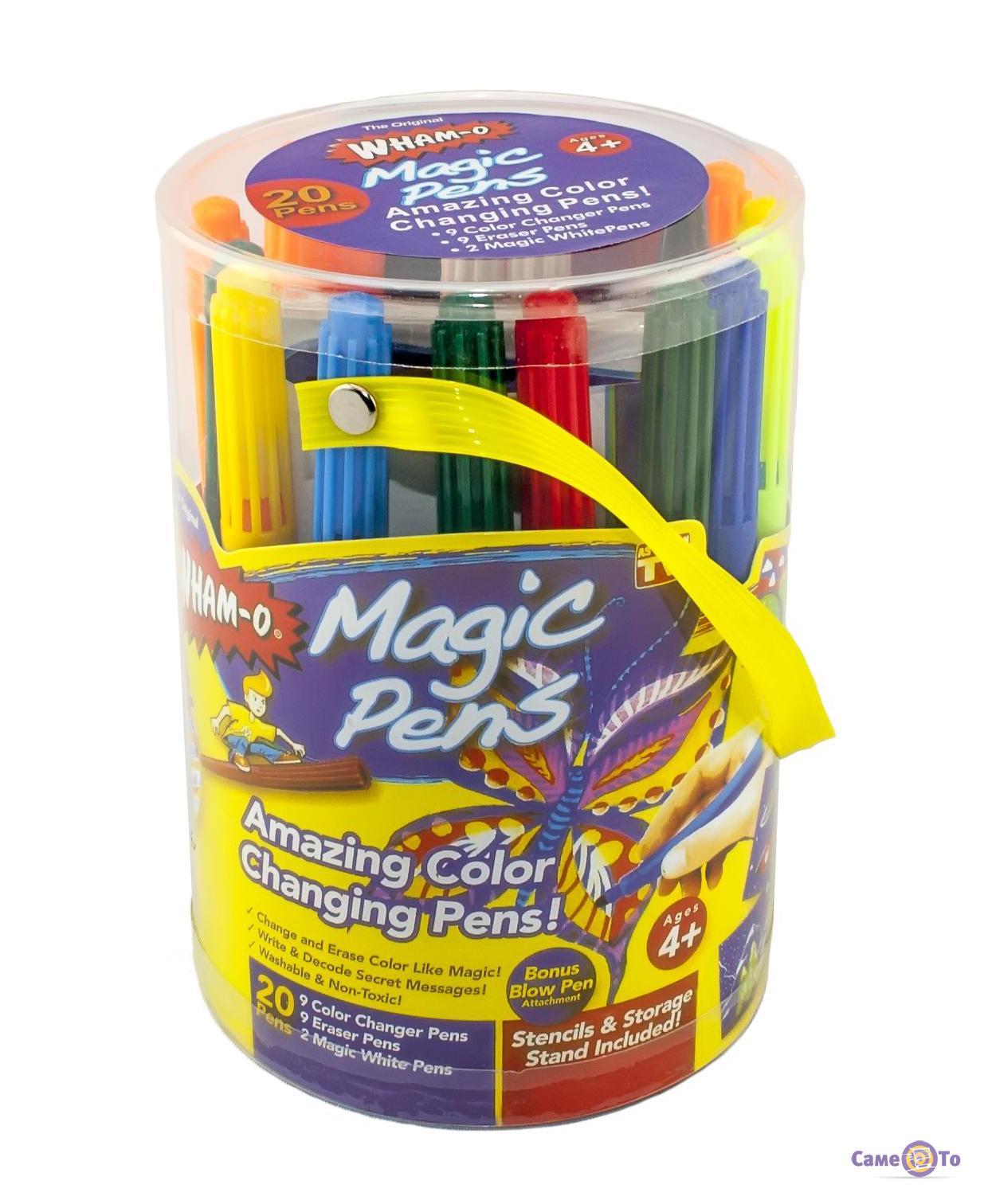 Волшебные фломастеры Magic Pens меняющие цвет - упаковка